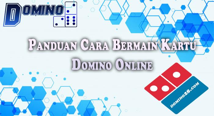 cara bermain domino