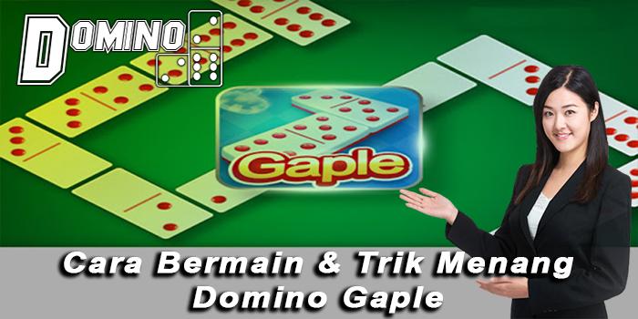 cara bermain domino gaple